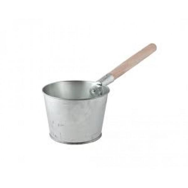 Ковш оцинк.1,5л дер.ручка (Магнитогорск)