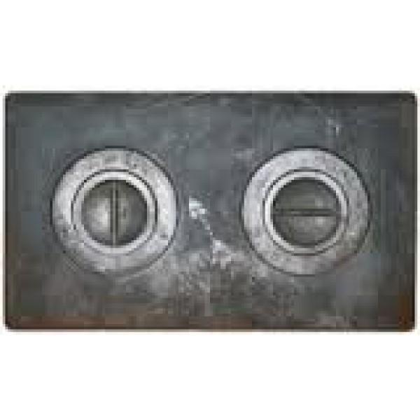 Печное литье плита 2комфорт П-2-1 (585Х340) мал (Балезино)