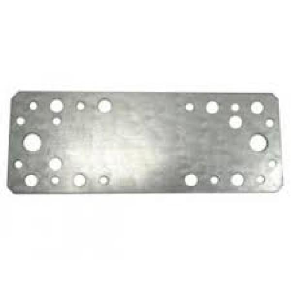 Пластина крепежная 210х90х2,0 цинк (Кунгур)
