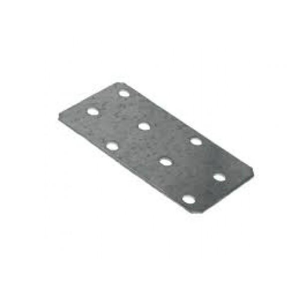 Пластина соединительная 80х40х1,5 цинк (Кунгур)