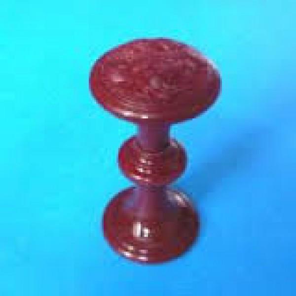Ручка-стяжка пластм.РДП-01-6 шоколад бол.с кольцом