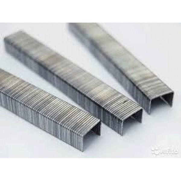 Скобы 8мм закал. Тип53 (11,3х0,7мм) 1000шт LIAN1008C