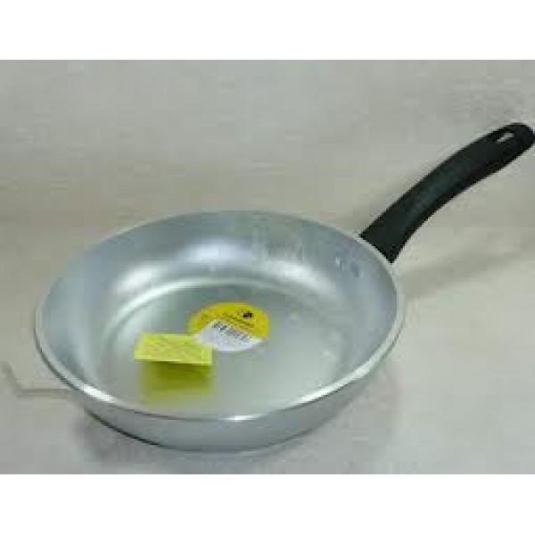 Сковорода 240/60мм со съемной ручкой, с металл. крышкой литой ал. с248 Кукмор