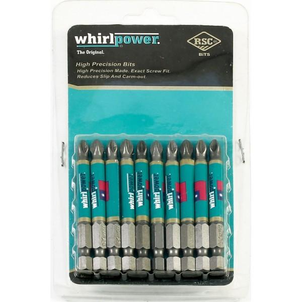 Биты Ph2  90 мм Whirlpower цена за 1шт