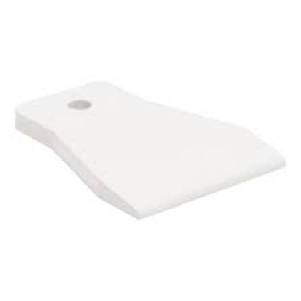 Шпатель резиновый белый 100мм БИБЕР 35268
