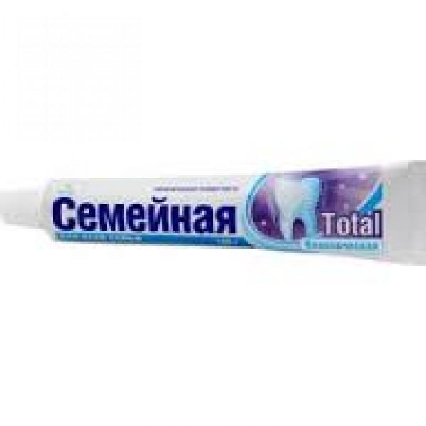 Зубная паста Весна 100 гр Семейная без фтора Тотал