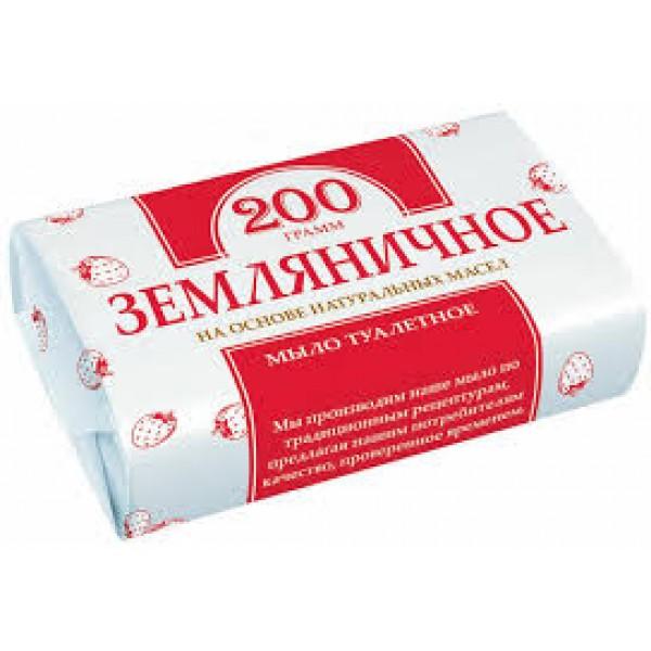"""Мыло """"Земляничное"""" 200гр г.Нижний нов. бум. упак."""
