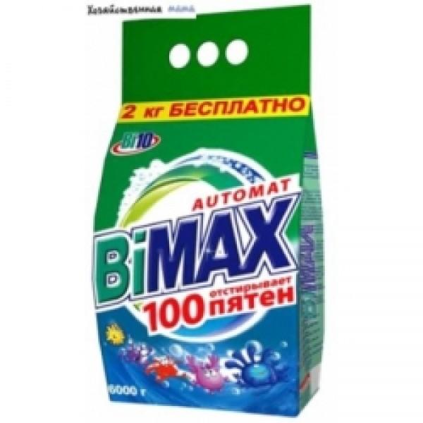 Порошок стир. БиМакс АВТ.6 кг 100 пятен мягкая упаковка 13298