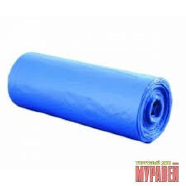 Мешки для мусора 120л 10шт (синие) ОСОБОПРОЧНЫЕ