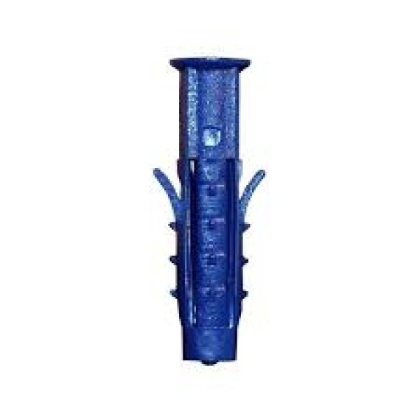 Дюбель распорный Чапай 6*40 шипы-усы (синие) 1000шт  ТехКреп