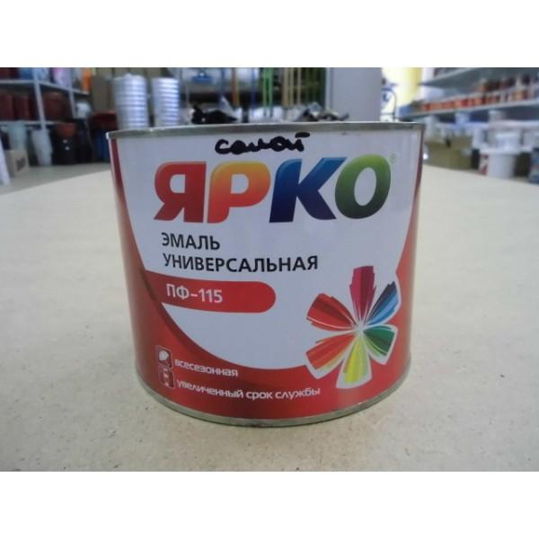Эмаль ЯРКО ПФ-115 белая, банка 1,9 кг