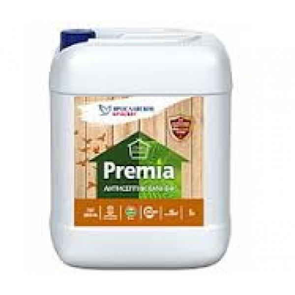 Антисептик PREMIA ХМФ-БФ для древесины, канистра 5 л