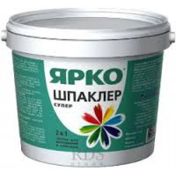 Шпаклер - супер ЯРКО, ведро 1,4 кг