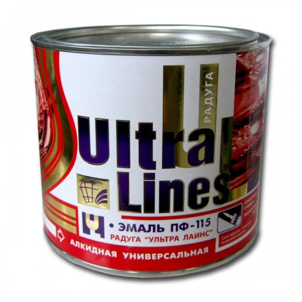 """Ultra Lines""  ПФ-115 Черная 1,9"