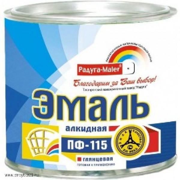 """Радуга"" ПФ-115 ГОСТ 1,9 Желтая"