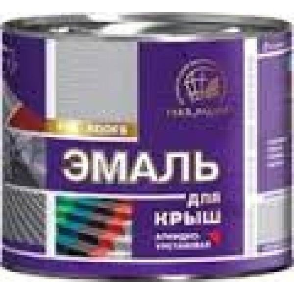 """""""Радуга"""" Эмаль для крыш Красно-коричневый 6кг"""