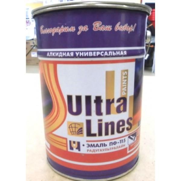 """Ultra Lines"" Краска ПФ-115 Ярко-зеленая 6 кг"