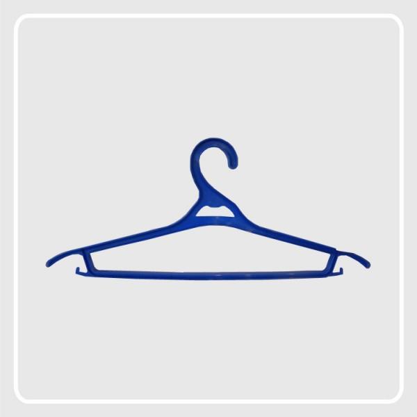 Вешалка-плечик для легкой одежды р-р 48-50 чветные
