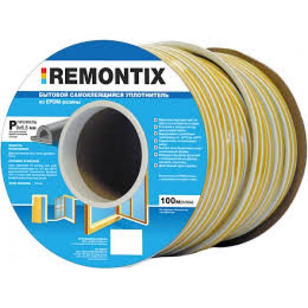 """Уплотнитель REMONTIX """"E""""150м бел (9*4мм)"""