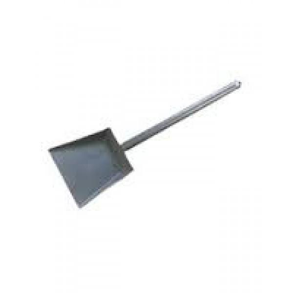 Совок хоз.металл с короткой ручкой 20 см