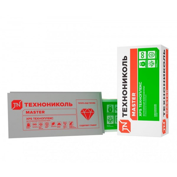 Пенополистирол (XPS) 1180х580х30 ТЕХНОПЛЕКС