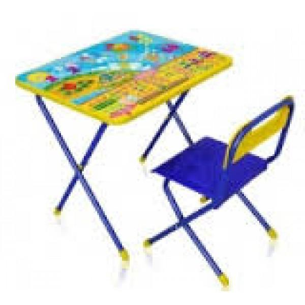 Стол + стул с мягк.сиденьем Дисней (детск.комплект) ПознайкаКП2