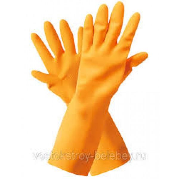 Перчатки резин.хоз.утепленные