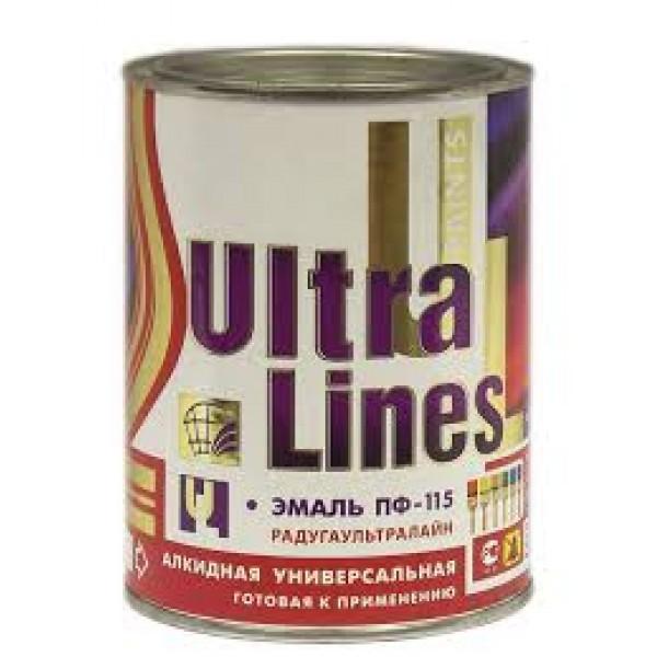 """Ultra Lines"" Желтая ПФ-115 0,9 кг."