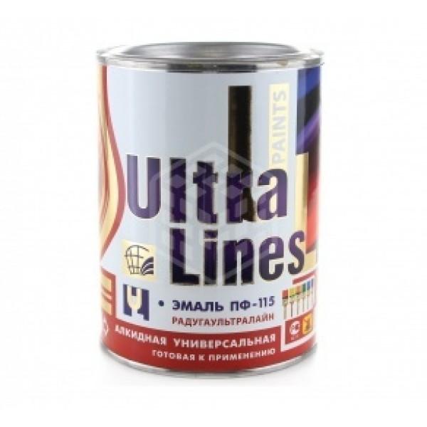"""""""Ultra Lines"""" Серая ПФ-115 0,9 кг."""