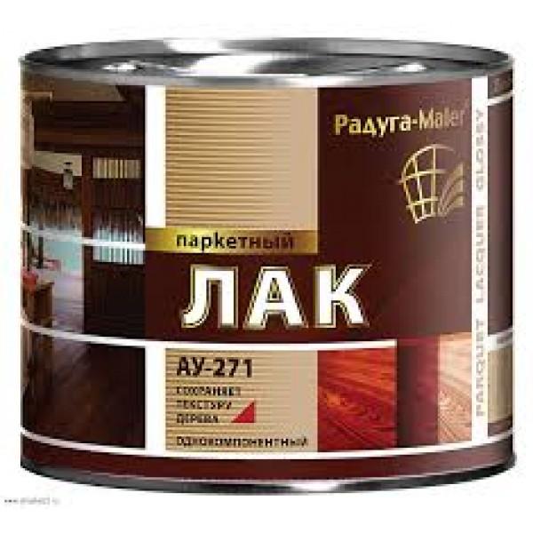 """""""Радуга"""" Лак паркетный  АУ-271 глянц. 1,9л"""
