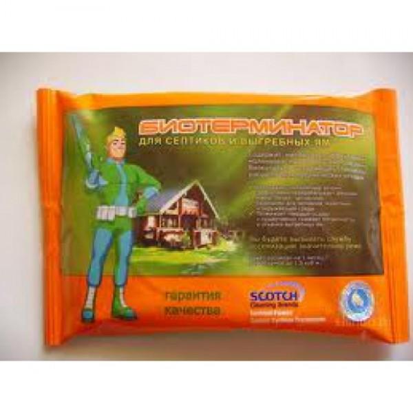 Биотерминатор 70гр (Средство для выгребных ям и коттеджных санузлов)