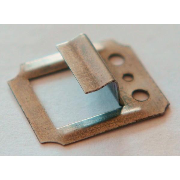 Кляймеры N3 с гвоздями, для крепления панелей ДСП и евровагонки