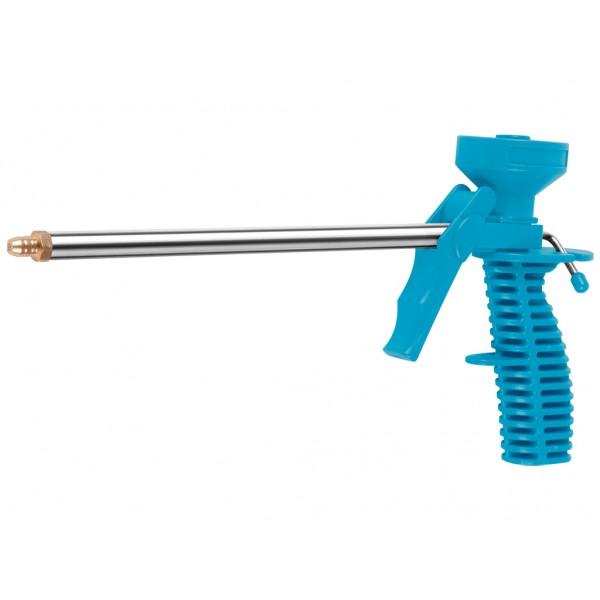 Пистолет для пены пластик с мет.резьбой ЕРМАК  (641-153)