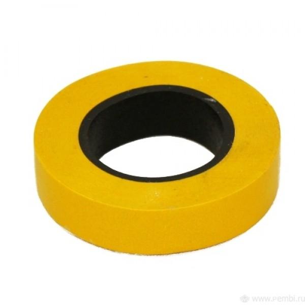 Изолента ПВХ желтая 19х20 Klebebander