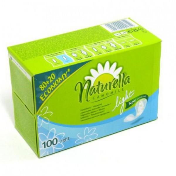 Прокладки ежедневные Naturella лайт 100шт