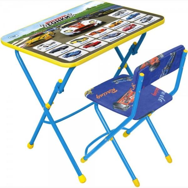 Стол + стул с мягк. сиденьем (детский комплект) КУ1