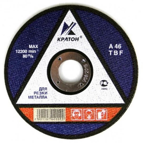 Круг абраз.КРАТОН 115*1*22,2 по металлу