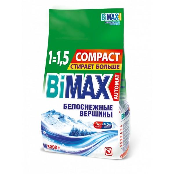 Порошок стир. БиМакс АВТ.3 кг Белоснежные вершины м/у 1*4 (077)