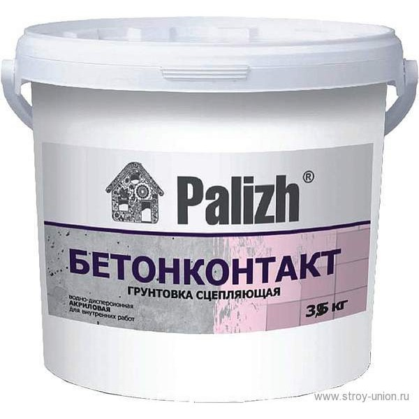 Грунтовка Бетоноконтакт адгезионная, ведро 2,4кг О01485.4