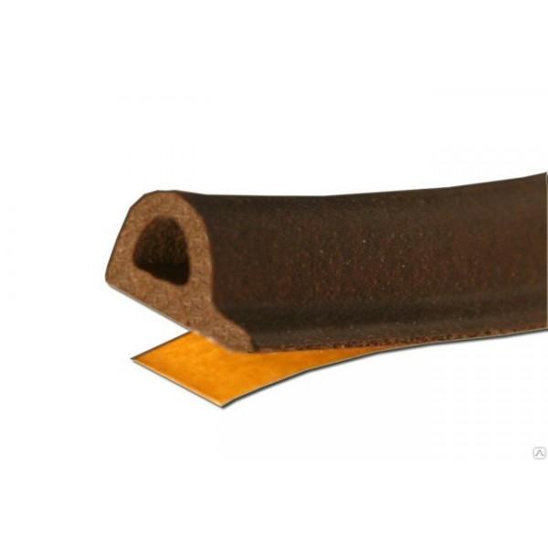 """Уплотнитель REMONTIX """"P""""коричневый (9х5,5мм) (В) /1/6"""