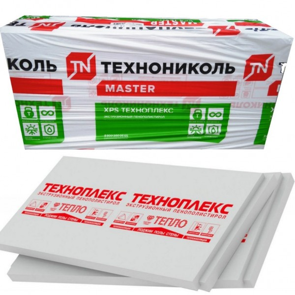 ТЕХНОНИКОЛЬ Техноплекс Экструдированный пенополистирол 1180х580х50мм