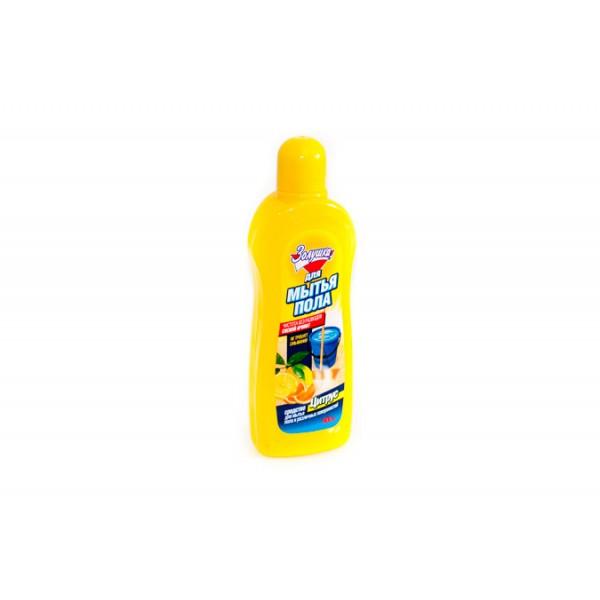 Средство для мытья пола Золушка цитрусовая свежесть