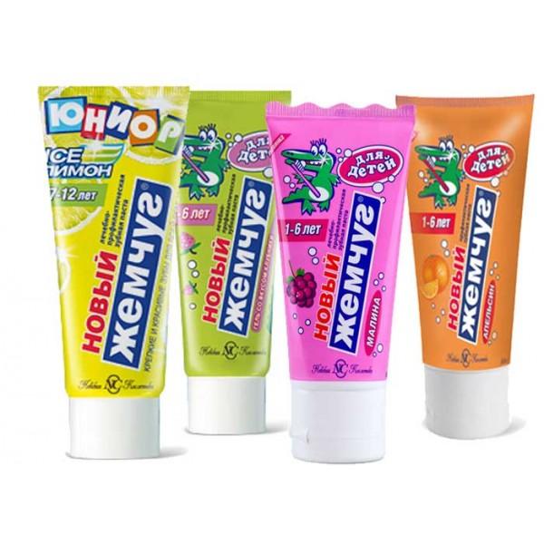 Зубная паста Детский Жемчуг 50мл