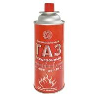 Газ для портативных плит универсальная смесь (continent comfort) Сибиар