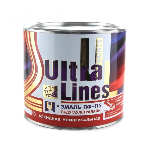 """Ultra Lines"" Красная ПФ-115 0,9 кг"