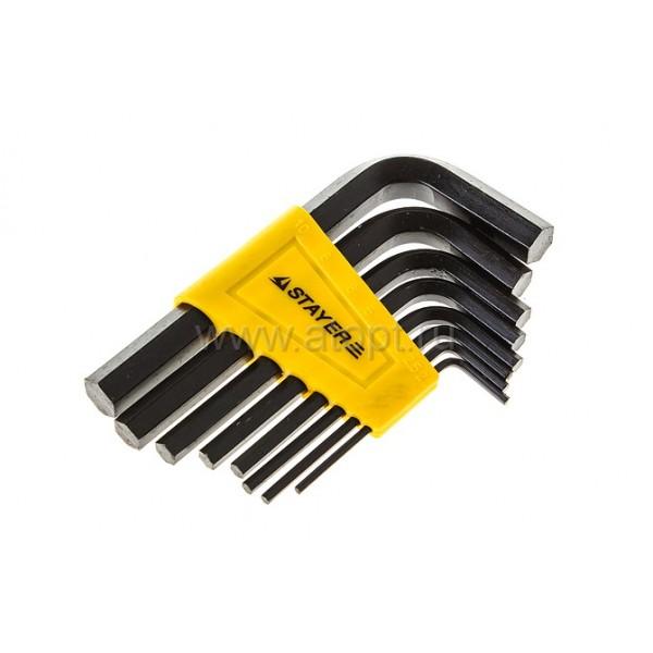 Н-р ключей 8пр Stayer Standard имбусовые 2-10мм