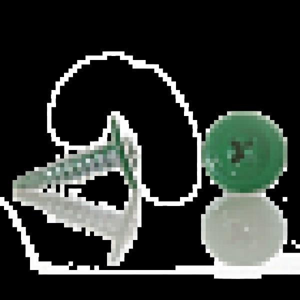 Саморез прессшайба сверло 4,2/16 RAL-6026 Опаловый зелёный
