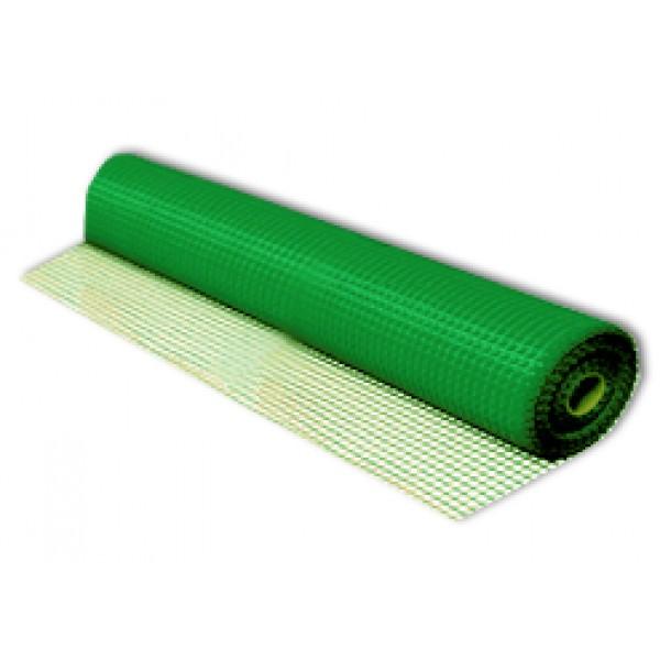 Сетка строит.фасадная Fiberon/4WALLS (50м) 160г/кв.м.,ячейка 5х5мм зеленая   /1