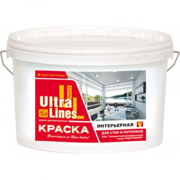"""Ultra Lines"" Краска интерьерная 3кг"