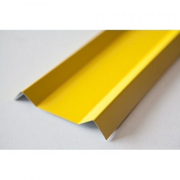 Евроштакетник 1012 Желтый 10см (1,25м)